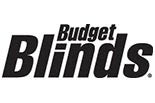 BUDGET BLINDS/WEATHERFORD logo