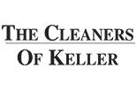 THE CLEANERS OF KELLER logo