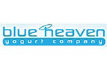 BLUE HEAVEN YOGURT logo