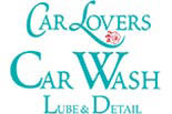 CAR LOVERS CAR WASH logo