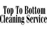 TOP TO BOTTOM HOUSE CLEANING SERVICE logo
