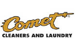 COMET CLEANERS logo