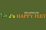 J'S HAPPY FEET logo