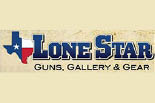 LONE STAR GUNS, GALLERY & GEAR logo