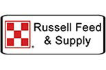 RUSSELL FEED & SUPPLY logo