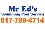 MR. ED'S SWIMMING POOL SERVICE logo