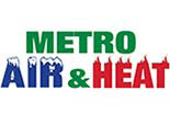 METRO AIR & HEAT logo
