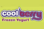 COOL BERRY FROZEN YOGURT logo