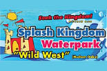 SPLASHKINGDOM WILD WEST WATER PARK-OPENING SUMMER 2013 logo