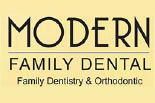 MODERN FAMILY DENTAL HWY 1187 logo