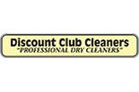 DISCOUNT CLUB CLEANERS - BAYHILL PLAZA logo