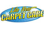 LIKE NEW CARPET CARE logo