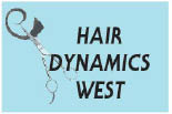 HAIR DYNAMICS WEST logo