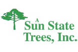 A SUNSTATE TREE SERVICE logo
