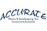ACCURATE PAVERS & LANDSCAPING logo