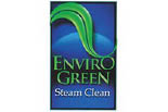 ENVIRO GREEN STEAM CLEAN logo