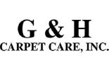 G & H CARPET CARE, INC. logo