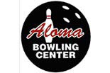 ALOMA BOWLING CENTER logo