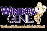 "WINDOW GENIE ""WE CLEAN WINDOWS and A WHOLE LOTE MORE logo"