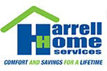 HARRELL HOME SERVICES - COMFORT and SAVINGS for a LIFETIME logo