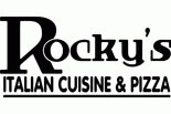 ROCKY'S PIZZA AND RESTAURANT logo