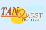 TANQUEST SUN SPAS logo