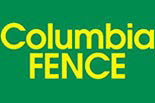 COLUMBIA FENCE logo
