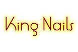 KING NAILS logo