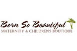BORN SO BEAUTIFUL MATERNITY & CHILDREN'S BOUTIQUE logo