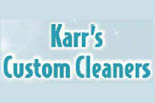 KARR'S CUSTOM CLEANING logo