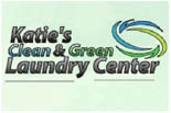 KATIE'S CLEAN & GREEN LAUNDRY CENTER logo
