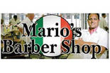 MARIO'S BARBER SHOP logo