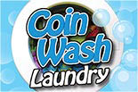 COIN WASH LAUNDRY logo