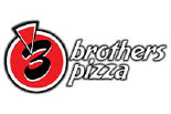 3 BROTHERS PIZZA logo