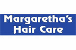 MARGARETHA'S HAIR CARE logo