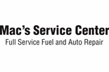 MAC'S SERVICE CENTER logo