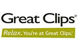 GREAT CLIPS- POWHATAN logo
