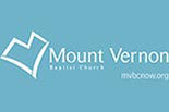 MT. VERNON BAPTIST CHURCH logo