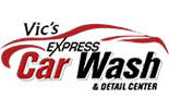 VIC'S EXPRESS CAR WASH logo