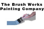 The Brush Works Painting Company logo