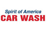 SPIRIT OF AMERICA CAR WASH logo