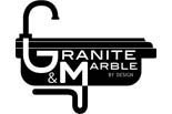 GRANITE AND MARBLE BY DESIGN logo