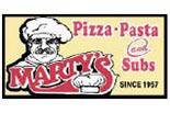 Marty's Pizza logo