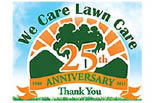 WE CARE LAWN CARE logo