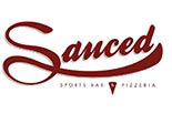 SAUCED SPORTS BAR & PIZZERIA logo