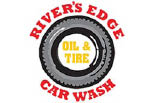 RIVER EDGE CAR WASH logo
