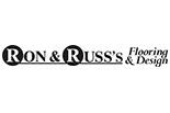 RON AND RUSS'S FLOORING AND DESIGN logo