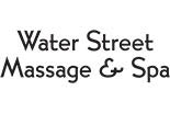 WATER STREET MASSAGE AND SPA logo