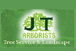 JT ARBORISTS TREE SERVICE AND LANDSCAPE logo