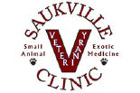 SAUKVILLE VETERINARY CLINIC logo